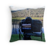 Picture in Picture. Throw Pillow