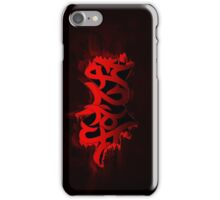 Faze splash graffiti iPhone Case/Skin