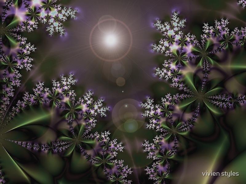 Wild jasmin bathing in the moonlight by vivien styles