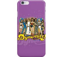 SuperWomen of the 70s - DyNoMite! iPhone Case/Skin