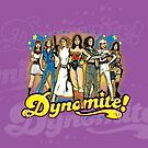 SuperWomen of the 70s - DyNoMite! by Captain RibMan