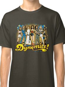 SuperWomen of the 70s - DyNoMite! Classic T-Shirt