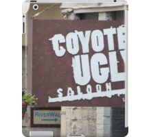 Coyote Ugly. iPad Case/Skin