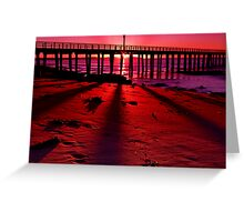 """""""Shadows On The Sand"""" Greeting Card"""