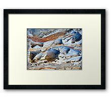 Beneath the Surface..... Framed Print