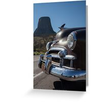 Alice At Devil's Tower Greeting Card