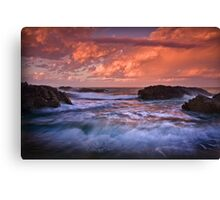 Forster Morning  Canvas Print