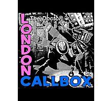 London Callbox Photographic Print