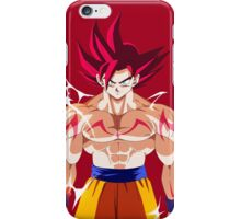 Super Saiyen God iPhone Case/Skin