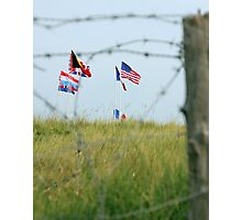 Utah Beach - Freedom Is Worth Fighting For Photographic Print