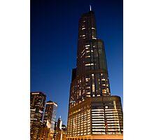 Trump International Hotel & Tower - Chicago Photographic Print