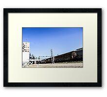 The Railyard I Framed Print