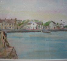 Cappa Pier, Cappa, Kilrush, Co.Clare by Pauline Dunleavy