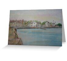 Cappa Pier, Cappa, Kilrush, Co.Clare Greeting Card