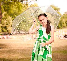 Alexa in Greenwich Park by Richard McIntyre