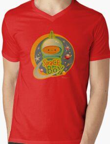 Space Boy! Mens V-Neck T-Shirt