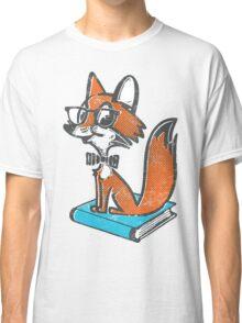 Fox Librarian Classic T-Shirt