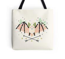 Crystal Bat Tote Bag