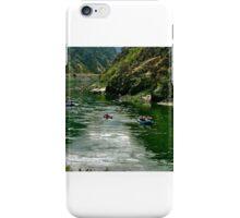 Salmon River Rafting iPhone Case/Skin