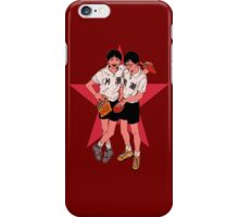 Peko and Smile - Ping Pong the animation iPhone Case/Skin