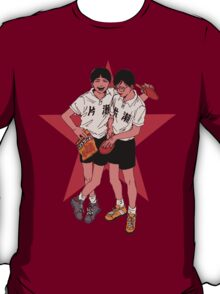 Peko and Smile - Ping Pong the animation T-Shirt