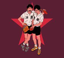 Peko and Smile - Ping Pong the animation T-Shirt