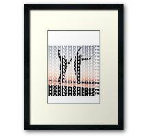 Manly Moments Framed Print