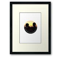 Manly Moments TM Framed Print