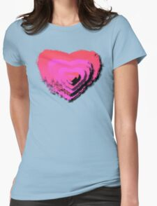 LAYERED LOVE Womens Fitted T-Shirt