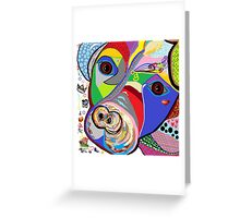 Pretty Pitty Greeting Card