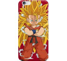 Kid Goku SSJ3 iPhone Case/Skin