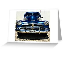 Chevy Greeting Card