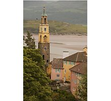The Bell Tower and The Beach Photographic Print