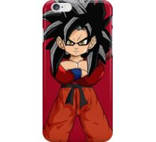 Kid Goku SSJ4 iPhone Case/Skin