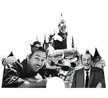 Walt Disney: A Man and a Mouse Photographic Print