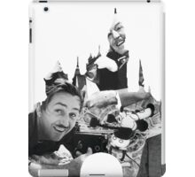 Walt Disney: A Man and a Mouse iPad Case/Skin