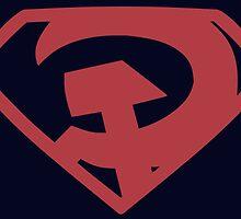 Man of Steel - Red Son by JoeWehnert