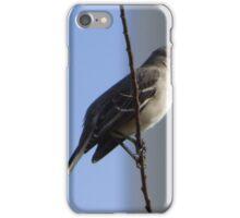 Bird on a wire. iPhone Case/Skin