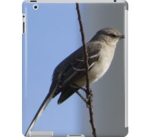 Bird on a wire. iPad Case/Skin