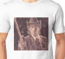 BOB DYLAN WITH GUITAR Unisex T-Shirt