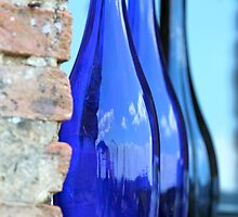 Tuscan Blue Reflections by Nadine Rippelmeyer