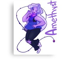Amethyst from Steven Universe Canvas Print