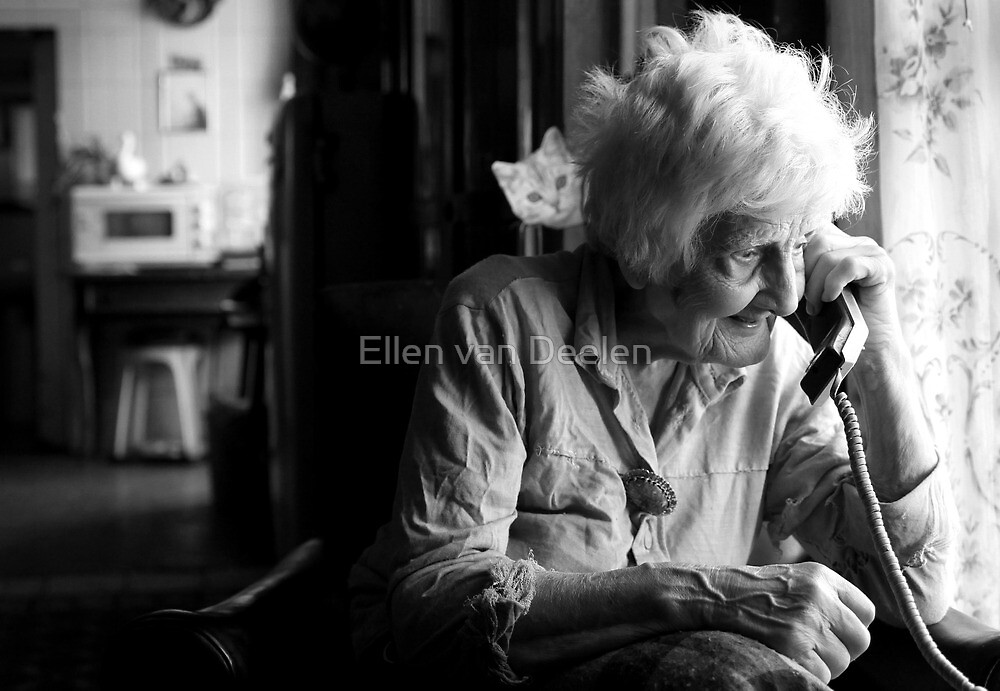 My Maltese friend Mary by Ellen van Deelen