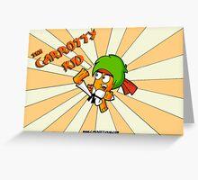 The Carrotty Kid: Sunburst Art Greeting Card