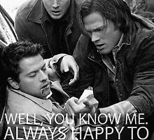 Always happy to bleed for the winchesters2 by Midgardian Fangirl