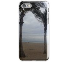 Beach and Palm Trees iPhone Case/Skin
