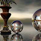Still Life Reflections by Sandra Bauser Digital Art