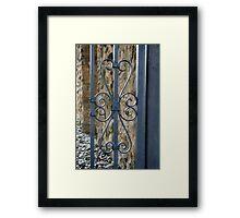 Alamo Scrolls Framed Print