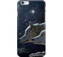 Wolves in the Moonlight iPhone Case/Skin