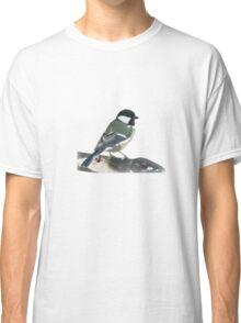 Chickadee Design (Small) Classic T-Shirt